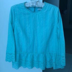 3/4 lace blouse